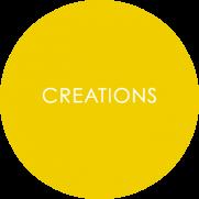 Creations Melamine Counterserve Roundel