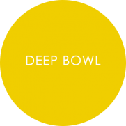 Deep bowl - melamine tableware roundel