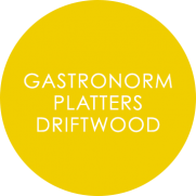 GP Driftwood Catering Plates Overlay