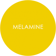 Melamine tableware roundel