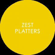 Zest Melamine Displayware Roundel