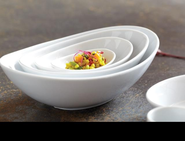 Cafe Porcelain-catering-plates