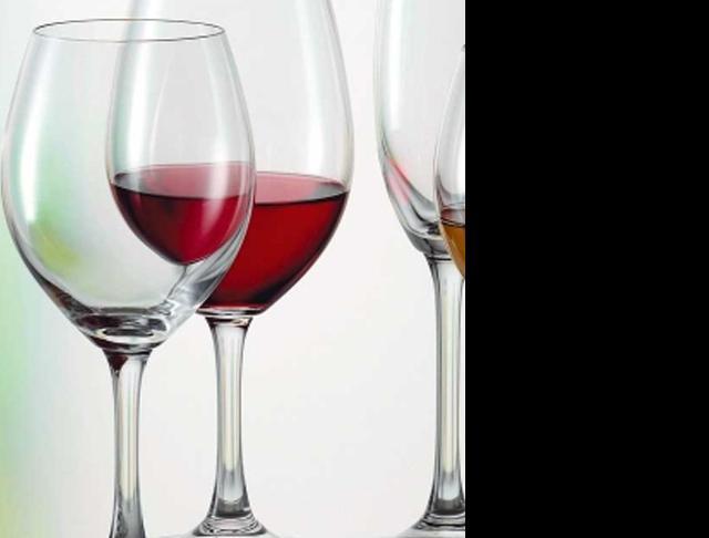 catering wine glasses stemware