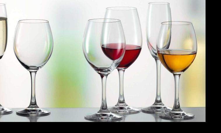 stemware catering glassware
