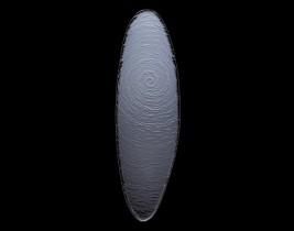 Ovale Glasschale  6513G381