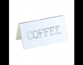 Coffee ID Tent Card  DWIDTENTCSS