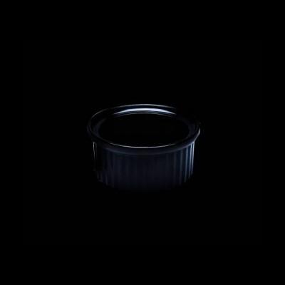 Auflaufförmchen, schwarz
