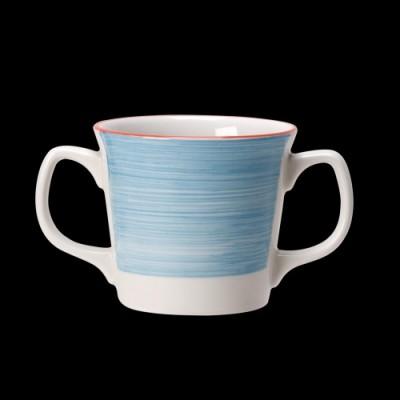 Zweihenklige Tasse