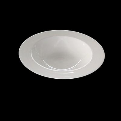 Rimmed Plate Serving Bowl