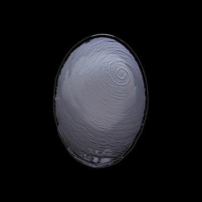 Ovale Glasschüssel