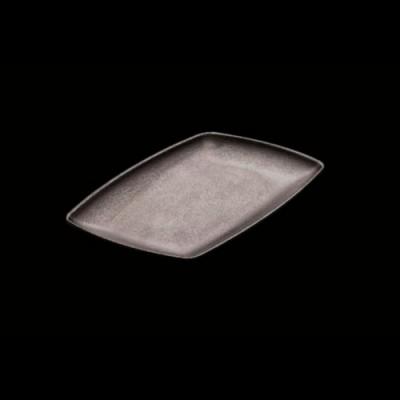 Platte, schwarz