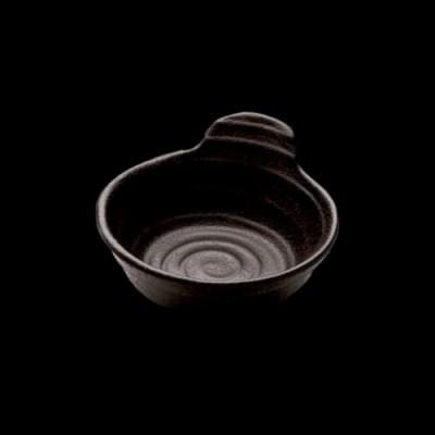 Saucenschale, schwarz