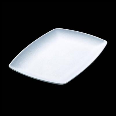 Platte, weiß