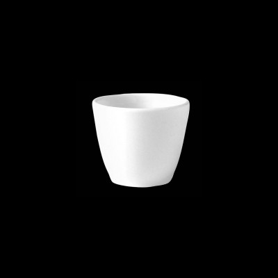 Henkellose hohe Tasse