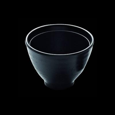 Suppenschüssel, schwarz